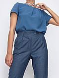 Зауженные брюки с поясом на резинке, фото 7
