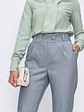 Зауженные брюки с поясом на резинке, фото 2
