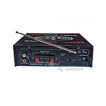 Стерео-усилитель звука UKC SN-802BT Bluetooth, фото 3