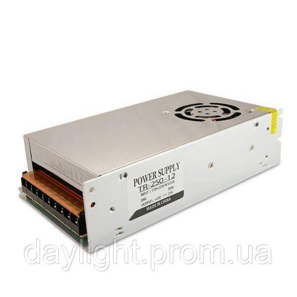 Блок питания 12v 250W 20A TR для светодиодной ленты