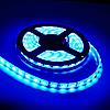 Светодиодная led лента влагостойкая 5 метров синий свет (4.8вт/м 60д 3528) ГАРАНТИЯ 12 мес., фото 2
