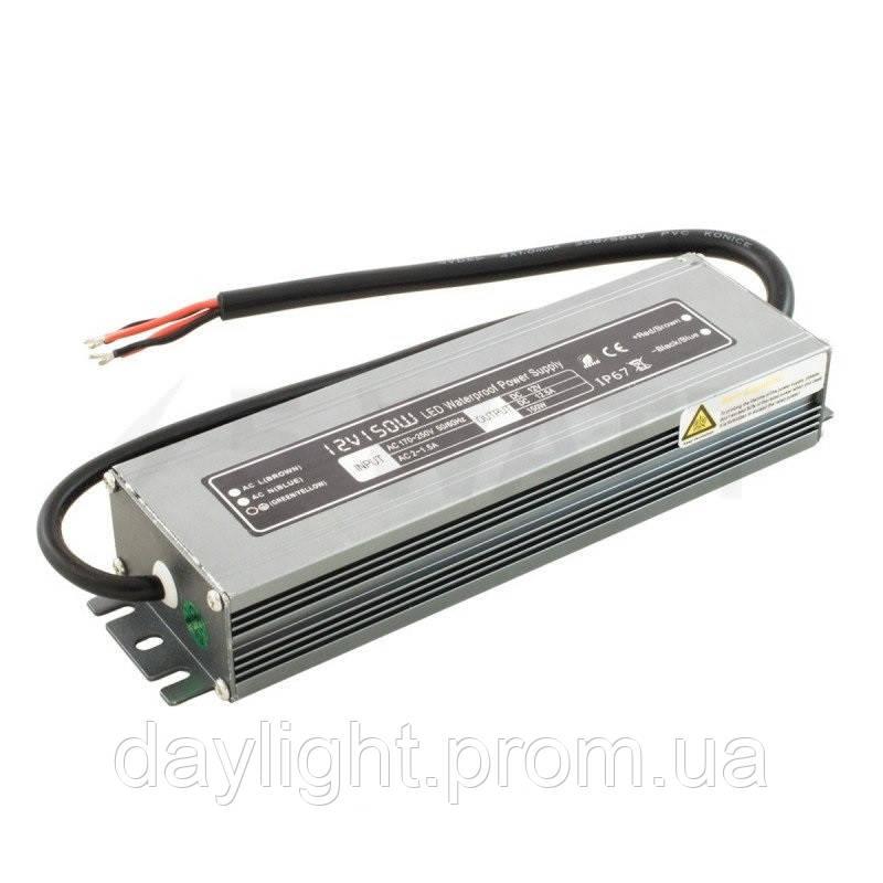 Блок питания 12v герметичный 150W 12.5A WPB для светодиодной ленты