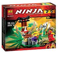 Конструктор NINJAGO, аналог LEGO (Ниндзяго) 58 предметов (GIPS), Конструкторы