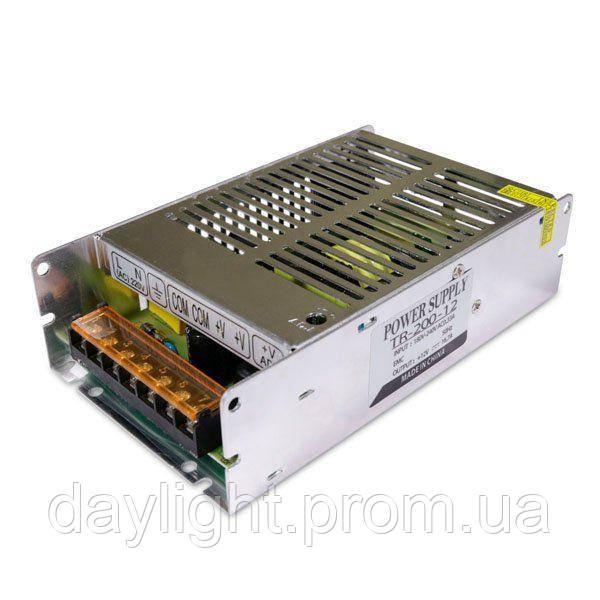 Блок питания 12v 200W 16.6A TR для светодиодной ленты