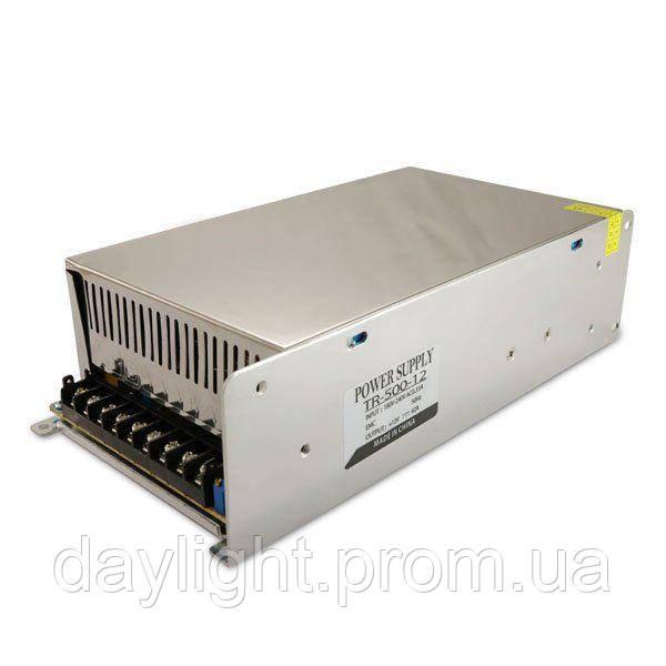 Блок питания 12v 500W 41A TR для светодиодной ленты