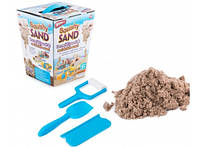 Кинетический песок Squishy Sand с лопаткой, роликом, ножом
