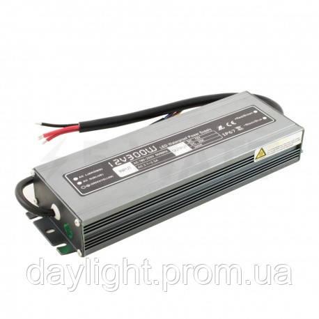 Блок питания 12v герметичный 300W 25A WBP для светодиодной ленты