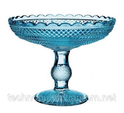 Ваза для фруктов Vista Alegre Atlantis Bicos 18,5x32,5 см Синий (49000100)