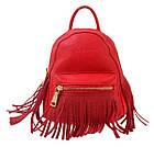 Сумка-рюкзак YES, червоний , 19,5*17*13, фото 2