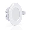 Точечный врезной светильник MAXUS SDL 8W теплый свет (1-SDL-005-01), фото 2