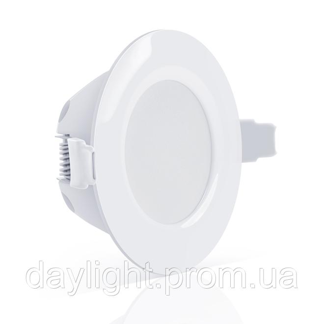 Точечный врезной светильник MAXUS SDL 8W яркий свет (1-SDL-006-01)