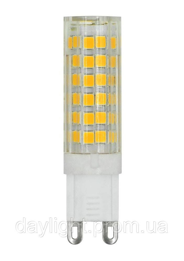 Светодиодная лампа G9 7W 3000k 220V Biom