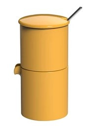 Набор: 90 мл Сахарница, Молочник, Ложка S/L Loveramics 3 предмета Желтый C098-51AYE
