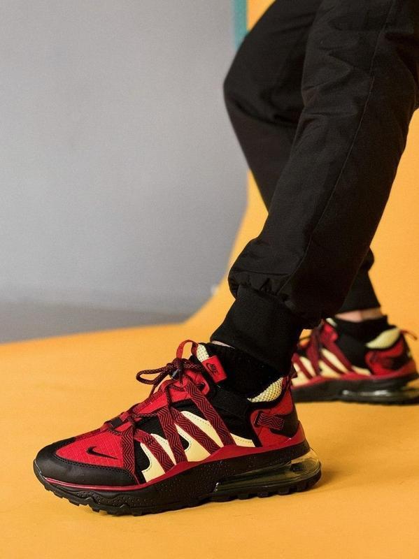 Кросівки чоловічі Nіkе Air Max 270 bowfin в стилі найк аір макс ЧЕРВОНІ (Репліка ААА+)