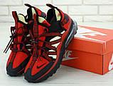 Кросівки чоловічі Nіkе Air Max 270 bowfin в стилі найк аір макс ЧЕРВОНІ (Репліка ААА+), фото 3