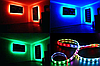 Светодиодная led лента RGB многоцветная 5 метров (14.4вт/м 60д 5050) ГАРАНТИЯ 12 мес., фото 7