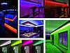 Светодиодная led лента RGB многоцветная 5 метров (14.4вт/м 60д 5050) ГАРАНТИЯ 12 мес., фото 9