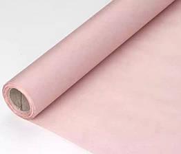 Крафт папір кольоровий в рулоні ніжно-рожева