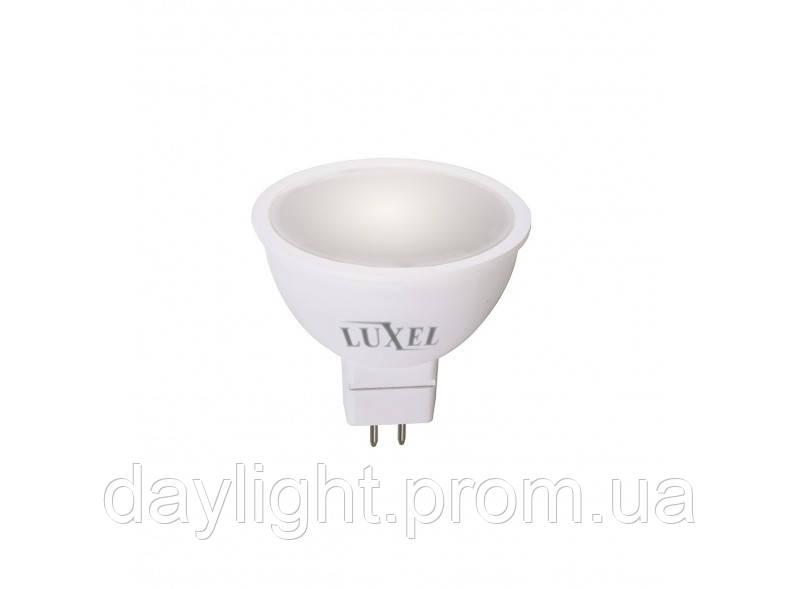 Лампа светодиодная GU5.3 6W 3000K Luxel Premium