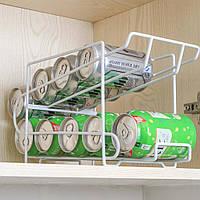 (GIPS), Подвійна полку в холодильник для банок 0,33 л