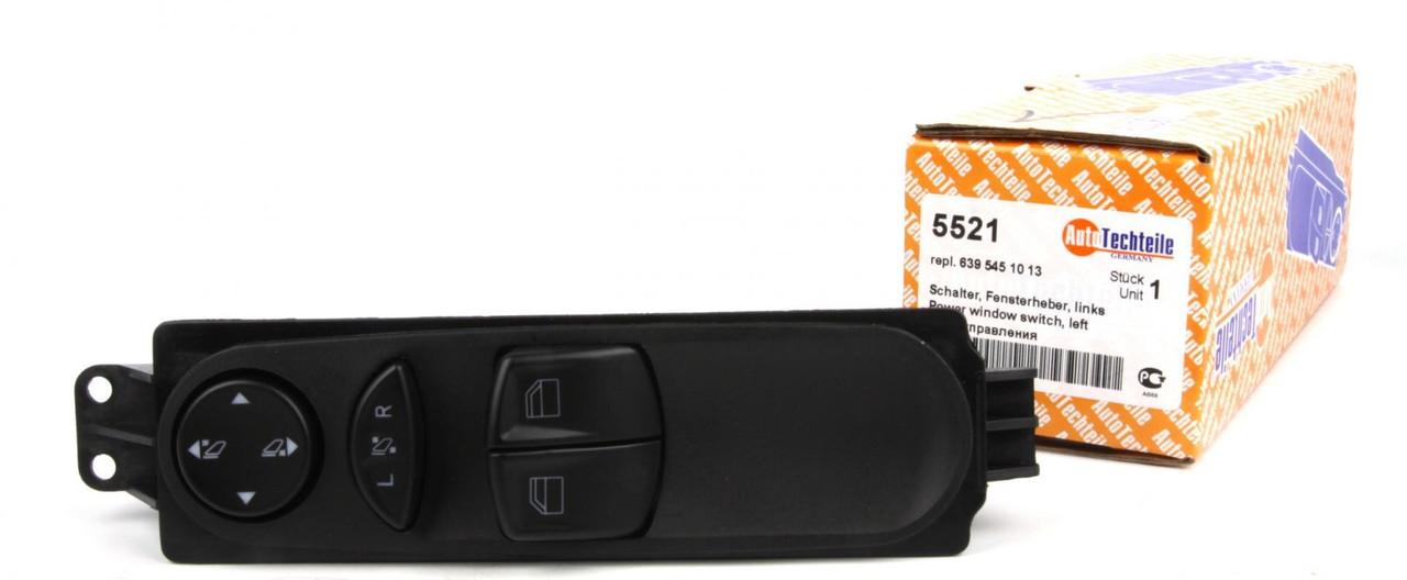 Кнопка стеклоподъемника (левая) MB Vito (W639) 03- (блок) (5521)  AUTOTECHTEILE