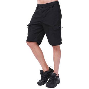 Тактические мужские шорты Lesko IX-7 Black размер M армейские форменные