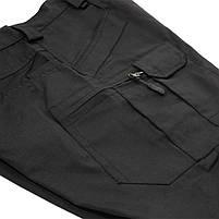 Тактические мужские шорты Lesko IX-7 Black размер M армейские форменные, фото 5