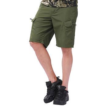 Тактические мужские шорты Lesko IX-7 Green размер L армейские форменные