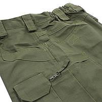 Тактические мужские шорты Lesko IX-7 Green размер 2XL армейские форменные, фото 3