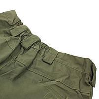 Тактические мужские шорты Lesko IX-7 Green размер 2XL армейские форменные, фото 4