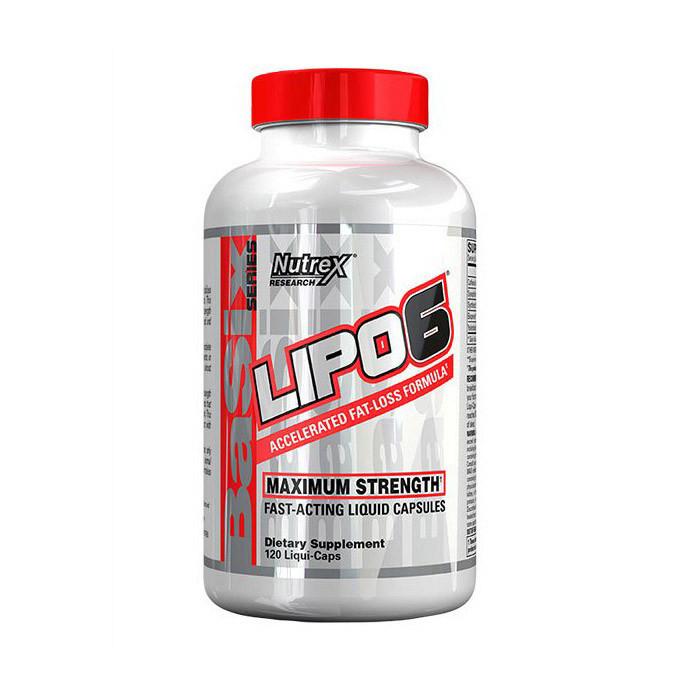 Жіросжігателя Nutrex Lipo-6 (120 liqui-caps)