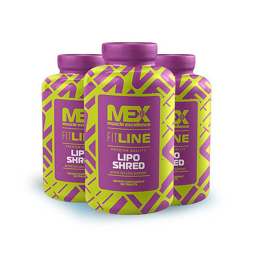 Жиросжигатель MEX Lipo Shred (120 tabs)