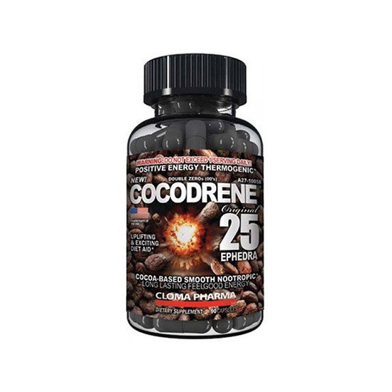 Жиросжигатель Cloma Pharma Cocodrene 25 (90 caps)