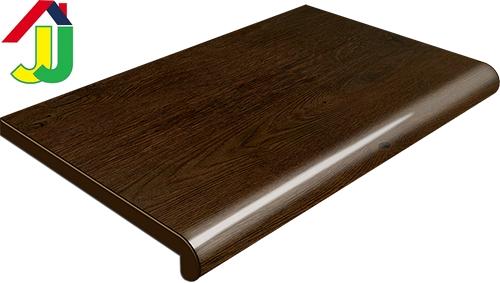 Подоконник Plastolit Дуб Рустикальный Глянец 450 мм влагостойкий, устойчивый к царапинам, для окон