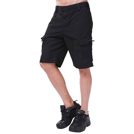 Тактические шорты Lesko IX-7 Black размер S мужские повседневные армейские, фото 2