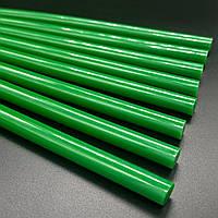 Клей силиконовый для термопистолета 11 мм 15 шт. (зеленый)