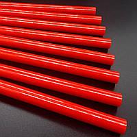 Клей силиконовый для термопистолета 7 мм 5 шт. (красный)