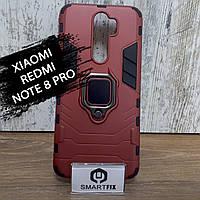 Противоударный чехол для Xiaomi Redmi Note 8 Pro Transformer Ring, фото 1