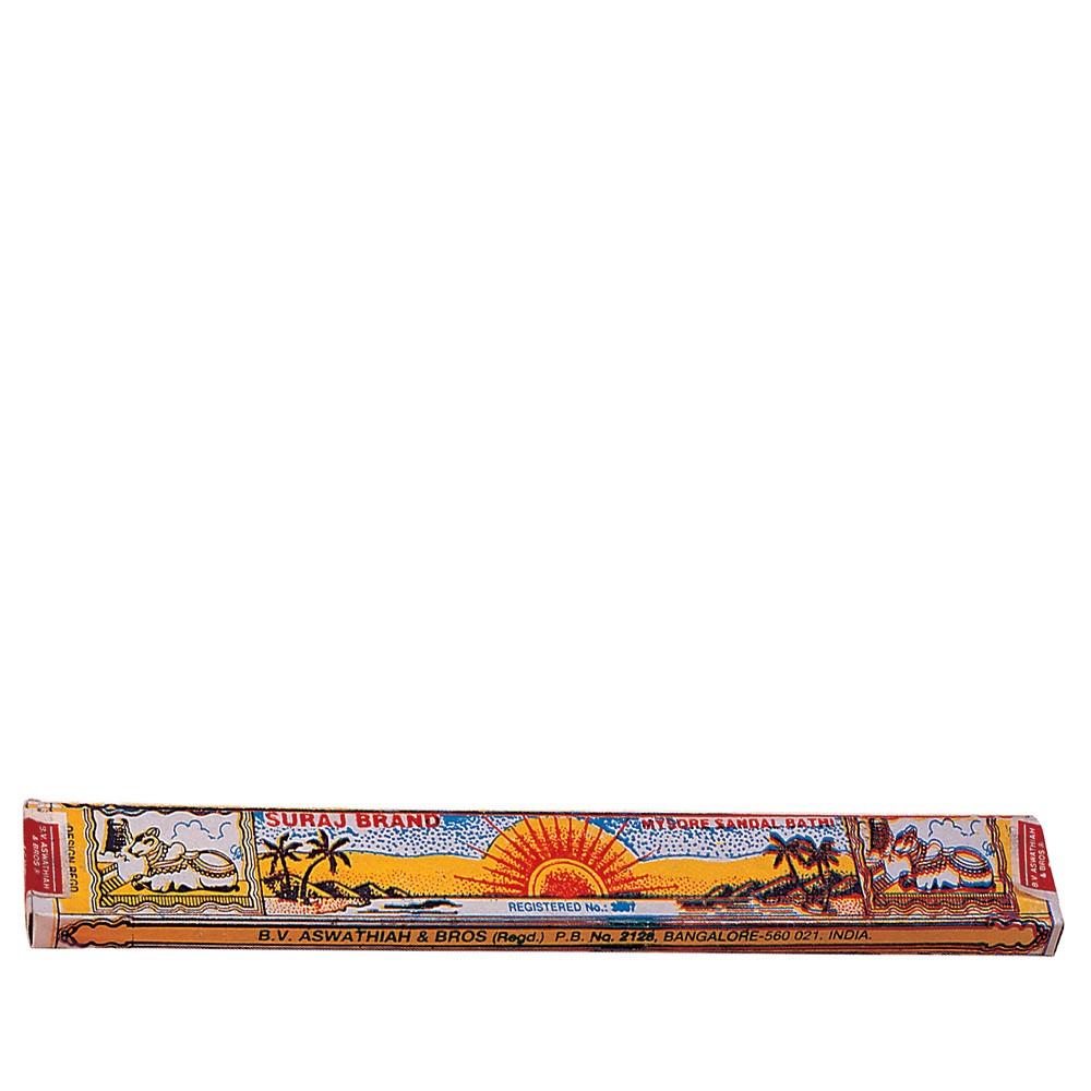 Палочки благовонные натуральные индийские Сурадж Сандал, Suraj Sandal