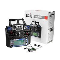 Пульт управления квадрокоптером FlySky FS-i6 2.4GHz 6-ти канальный с приемником IA6