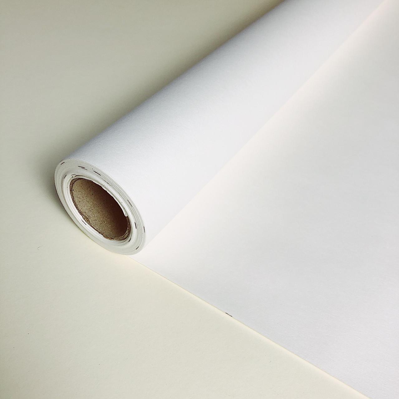 Крафт бумага цветная в рулоне белая