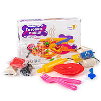 Детский набор для лепки Genio Kids Готовим пиццу с аксессуарами