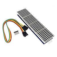 Модуль светодиодной матрицы (4 в 1) MAX7219 для Arduino