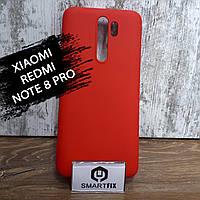 Силиконовый чехол для Xiaomi Redmi Note 8 Pro Красный, фото 1