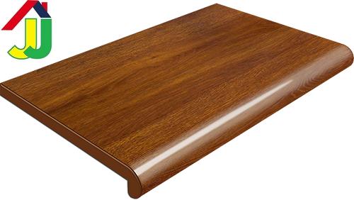 Подоконник Plastolit Золотой Дуб Глянец 600 мм влагостойкий, устойчивый к царапинам, для окон
