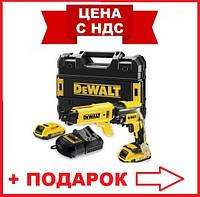 Шуруповерт DeWALT DCF620D2K аккумуляторный, 18В, 2акк. Li-Ion, 2А/ч, по гипсокартону,TSTAK
