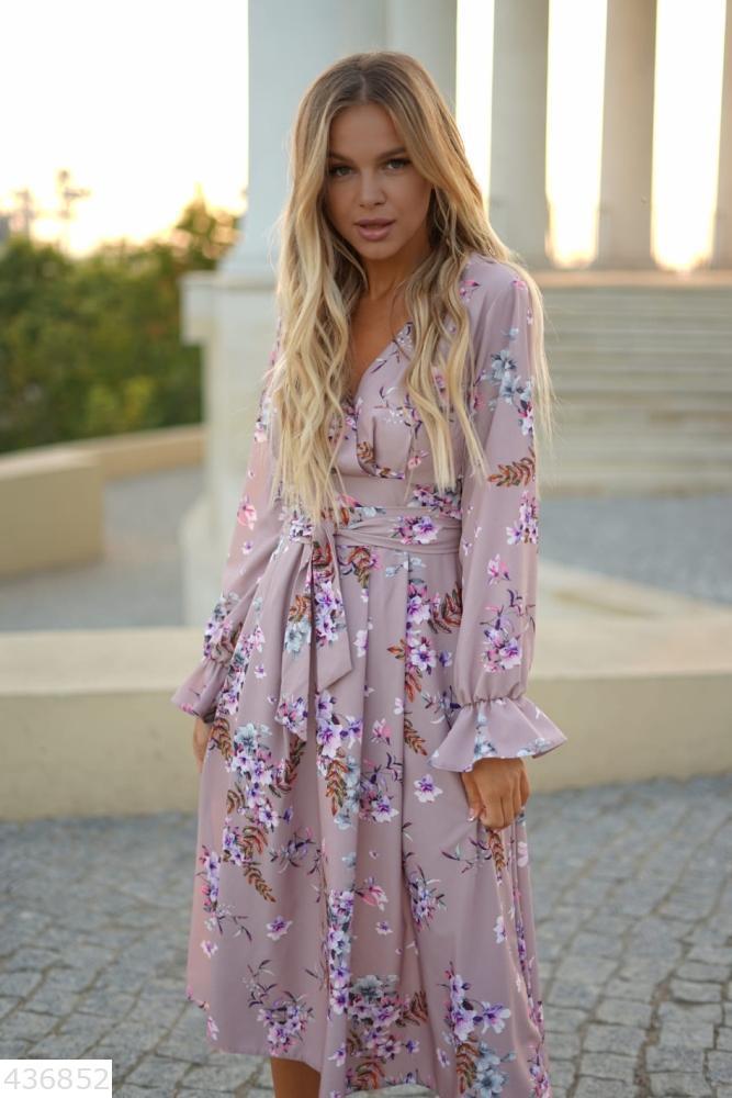 Красивое женское платье миди S M L XL