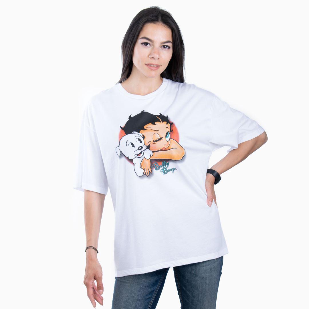 Женская футболка BOOP