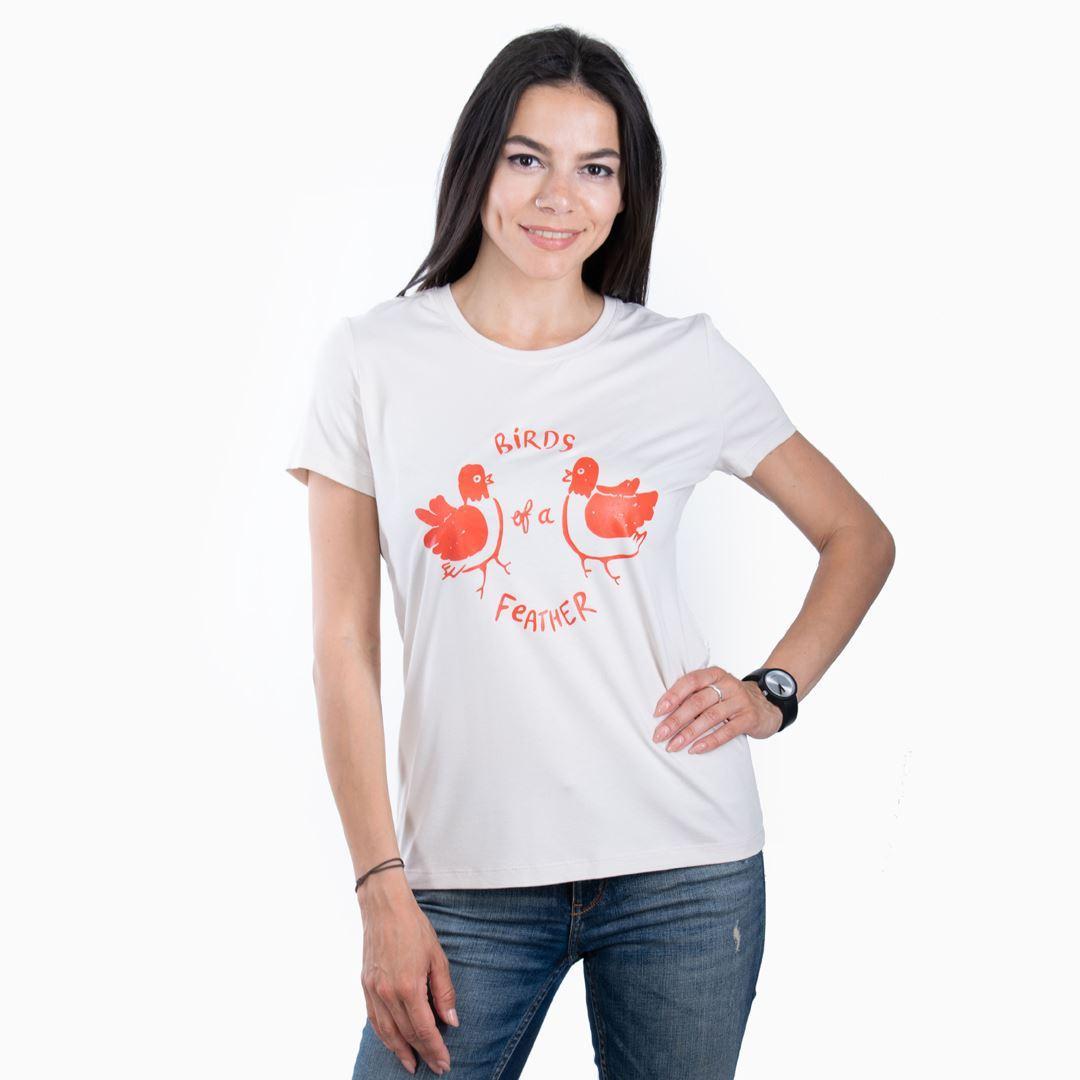 Женская футболка BIRDS