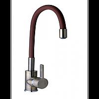 Смеситель кран кухонный DOMINO DBC-203 LR-Bronze